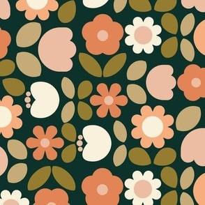 Papercut Flower Garden-Autumn - Large
