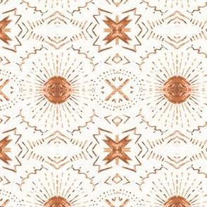 Sunset Mandala (copper) MED