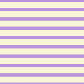 Lilac Lines on Cream