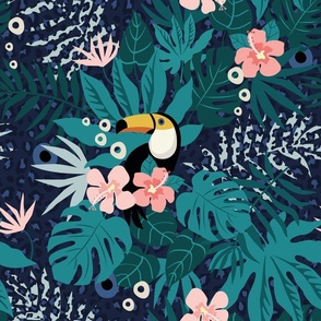 Tropical-groove-wallpaper