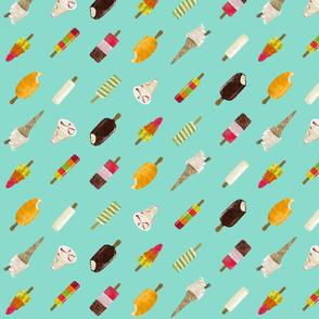 ice cream - topsy diagonal stripe (smaller)