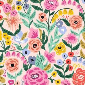 Garden Bloom_Beige