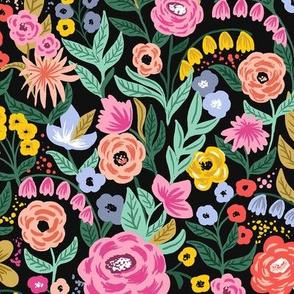 Garden Bloom_Black