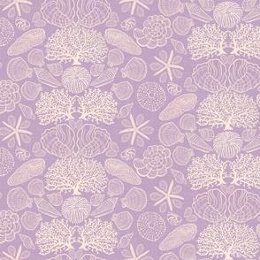 Sea Shells - sunlit lavender-small scale