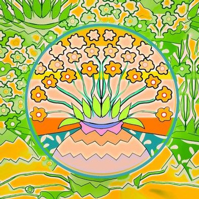 YELLOW FLOWERS IN THE VASE