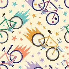 Fixed Gear Bike Pattern
