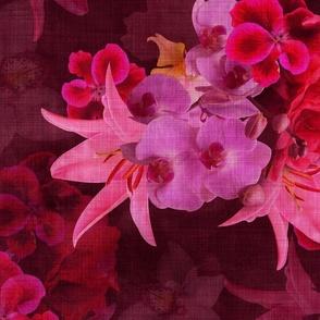 Vintage Tropical Flora