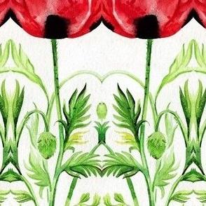 Black spotted poppy