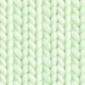 Knitted stockinette - pale lime solid