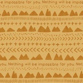 Nothing Will Be Impossible For You, Mustard Seed Faith