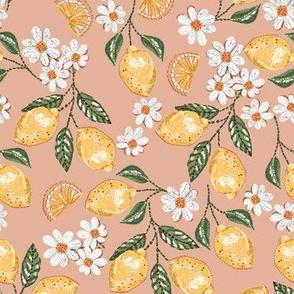 Lemon Daisy Stitch embroidery _nude