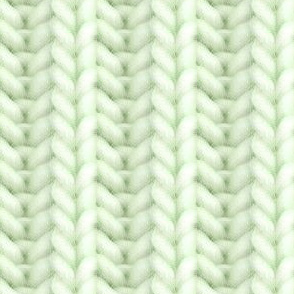 Knitted brioche - pale lime solid