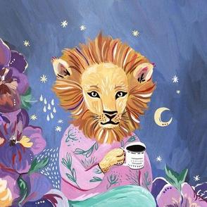 Evening Lion