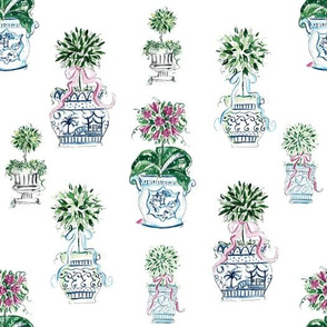 Charming Chinoiserie Topiary