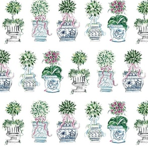 Charming Chinoiserie Topiary banner