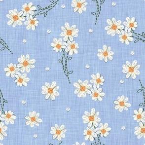 Chambray Daisy Embroidery stitch
