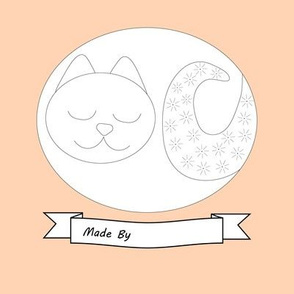 Cat Embroidery Design for beginners