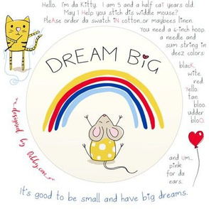 Embroidery - Dream Big Mouse