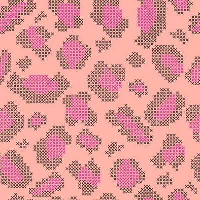 Embroidery Template PinkLeo