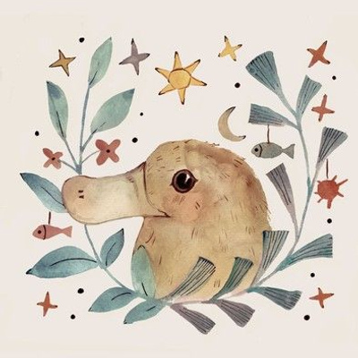 embroidery platypus