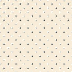 Rococo Collection Dots beige