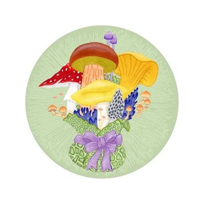 Fungal Bouquet Embroidery
