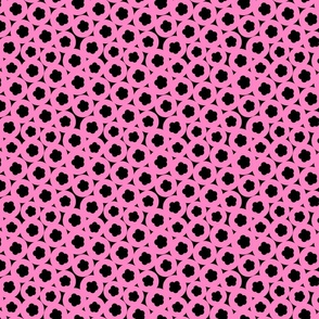 pink liquorice handmade