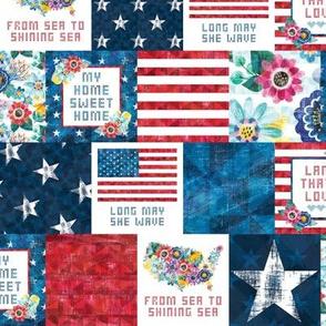 Americana Cottage - Patchwork