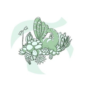 Succulent Dinosaur