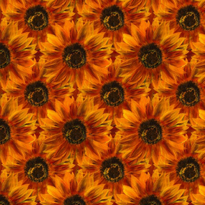 Nodding Sunflowers in Rust
