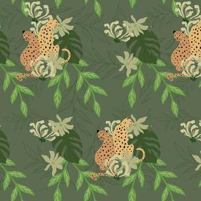 Green _Moody Palm Leaf Challenge