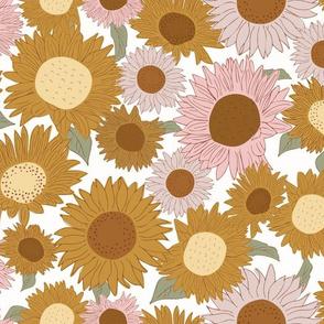 sunflowers bronze