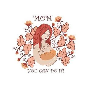 breastfeeding mom and baby