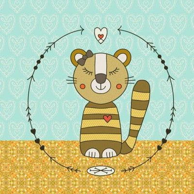 Sweet-Tiger-Thea-Boho-Embroidery-Template
