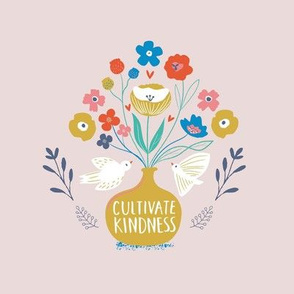 Cultivate Kindness Embroidery Hoop Art