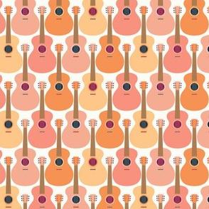 guitars by Pippa Shaw S-orange rust