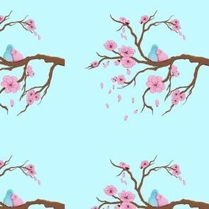 Blossoming Birds