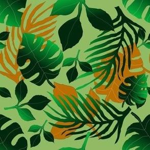 moody tropical-green