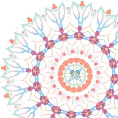 Embroidery Template - Pastel Rhythms and Rhymes