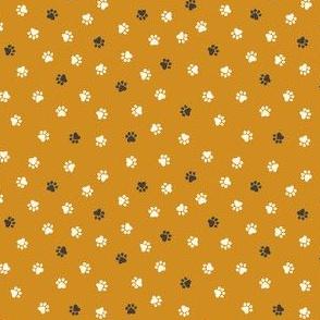 Mustard animal prints