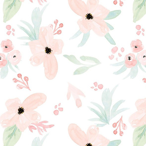 Adeline Watercolor Flowers