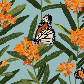 Monarchs - Smoke Blue