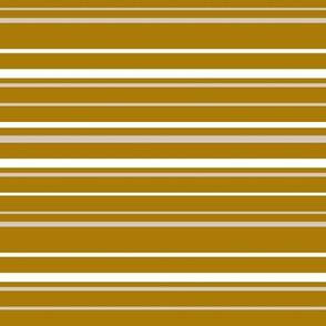 Golden olive stripes