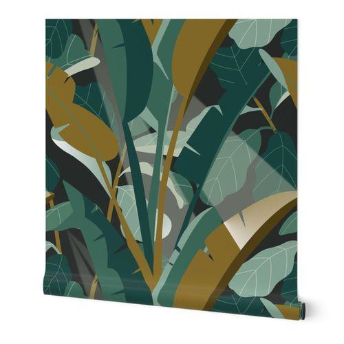moody tropical flora jumbo