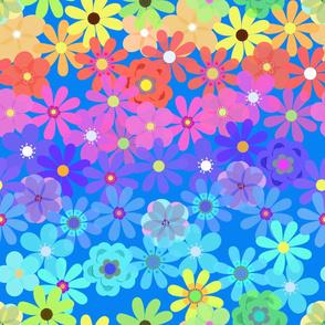 HIPPIE FLOWERS-HORIZONTAL