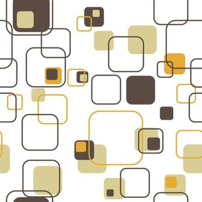 Groovy Cubes - 9in (gold)