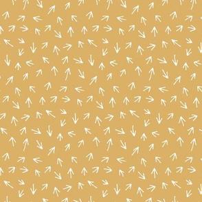 Rough Arrows - Yellow - Mini