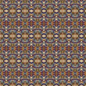Purple-Green-Blue-Abstract Geometric
