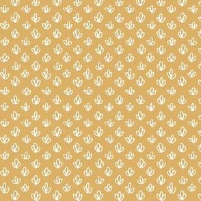 Botanical Doodle - Yellow - Mini