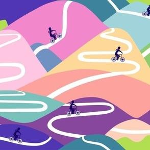 Mountain rides - spring